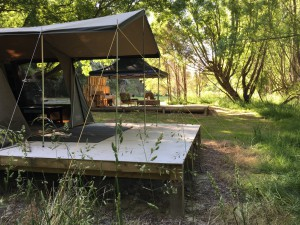 Glamping primo location