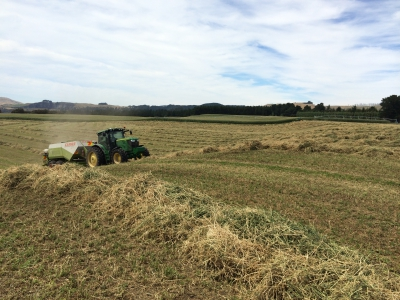 Hay making time - summer